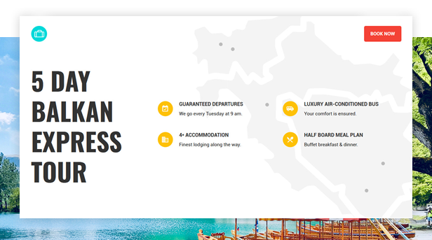 Book Your Travel - Online Booking WordPress Theme - 14