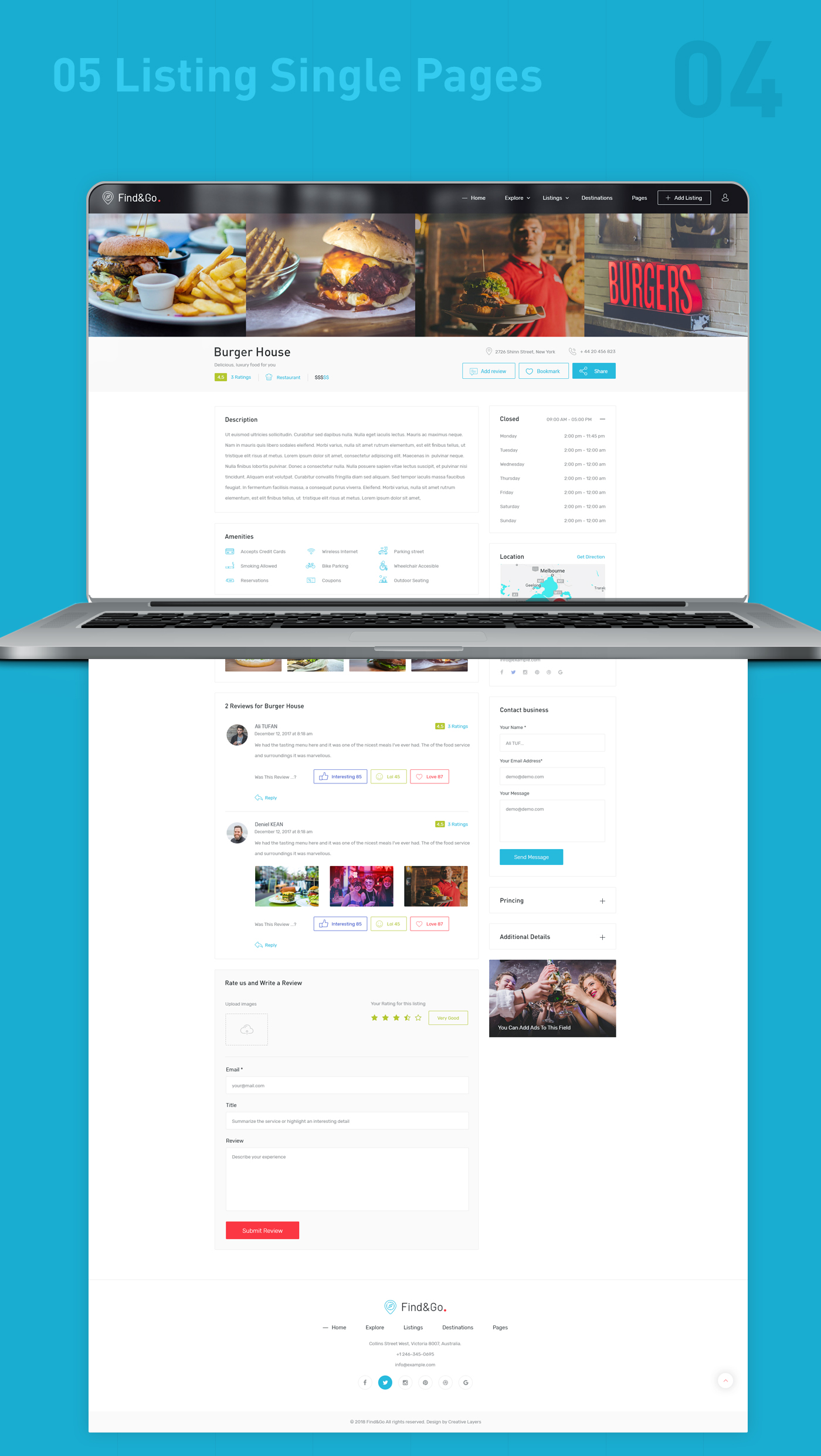 Findgo - Directory & Listing WordPress Theme - 5
