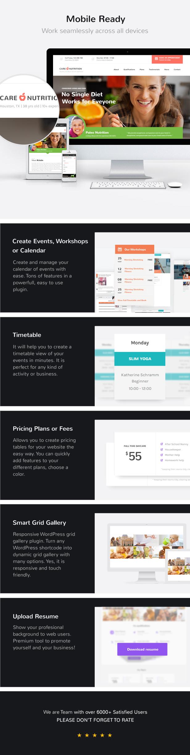 Care – Multi-Niche WordPress Theme for Small Business - 3