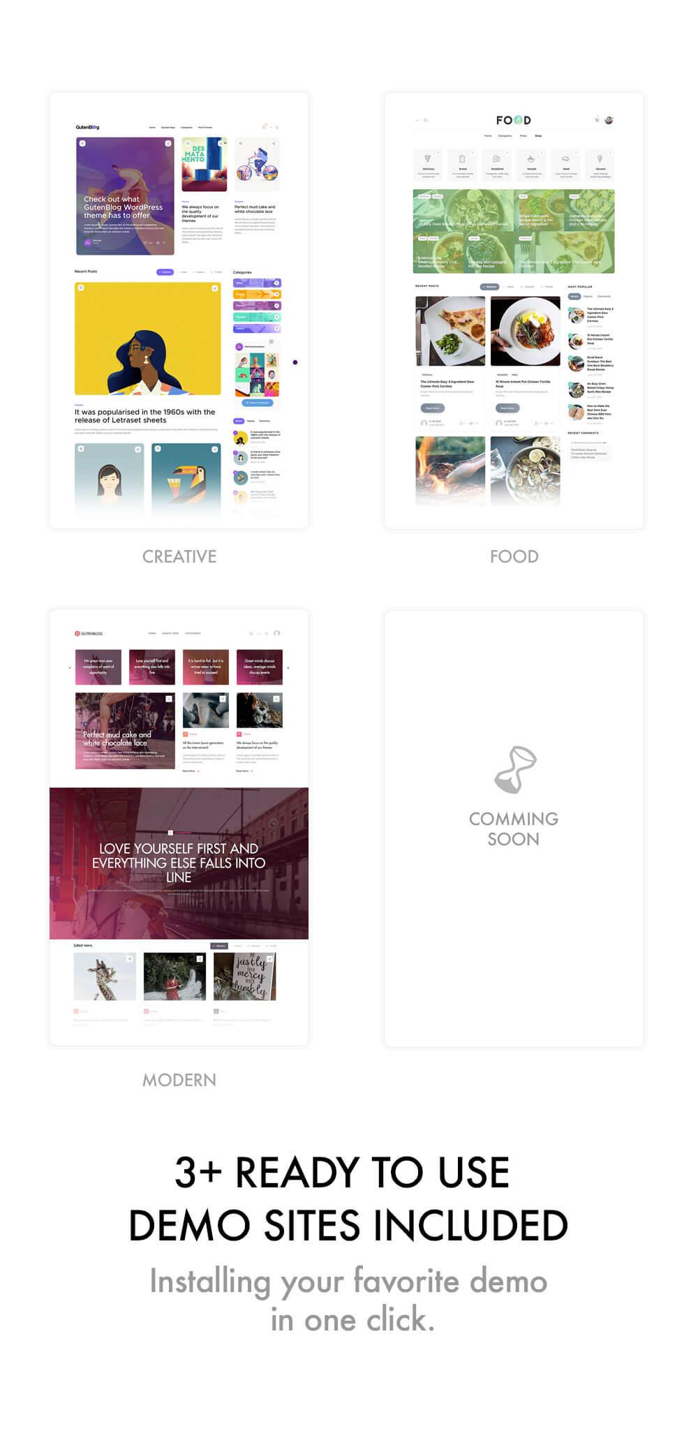 Gutenblog - Modern Blog WordPress Theme - 6
