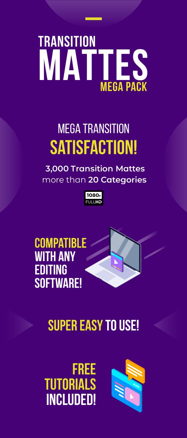 Transition Mattes Mega Pack - 1