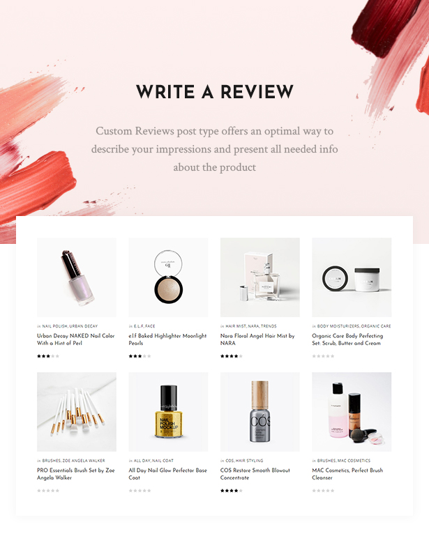 Cosmetista Beauty Makeup Theme By