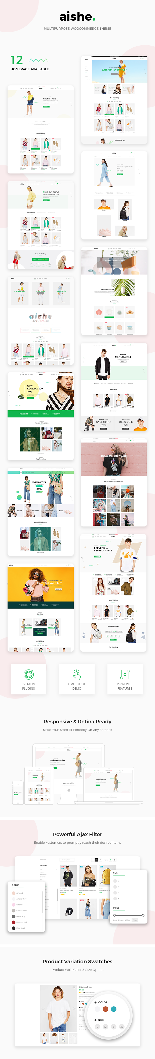 Aishe - Multipurpose WooCommerce Theme - 2