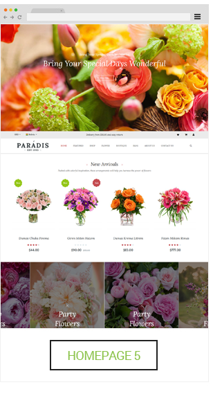 Paradise - Homepage