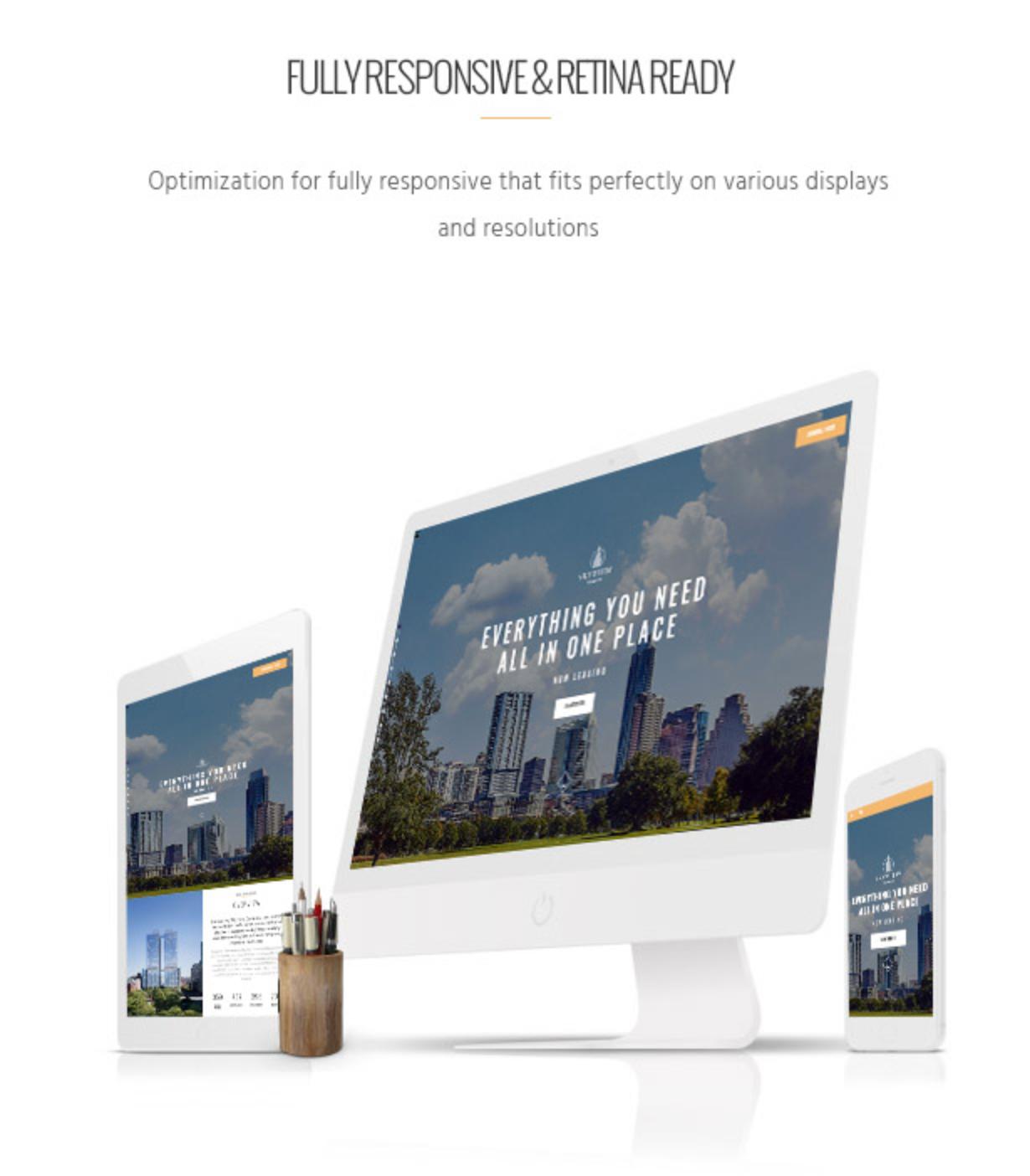 Skyview Complex Responsive & Retina Ready Single Property & Real Estate WordPress Themes