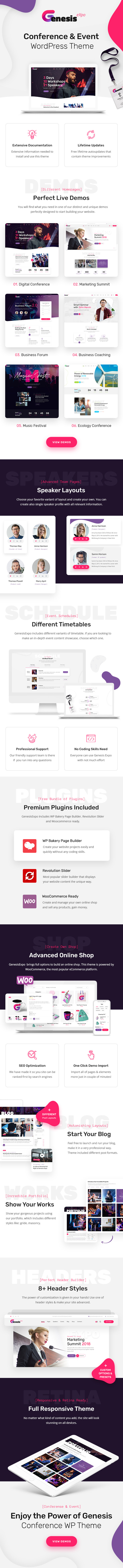 GenesisExpo | Business Events & Conference WordPress Theme - 4
