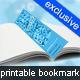 Printable Bookmark - 5