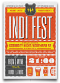 Indie Electronic Flyer/Poster - 15