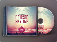 Futuristic Skyline CD Cover