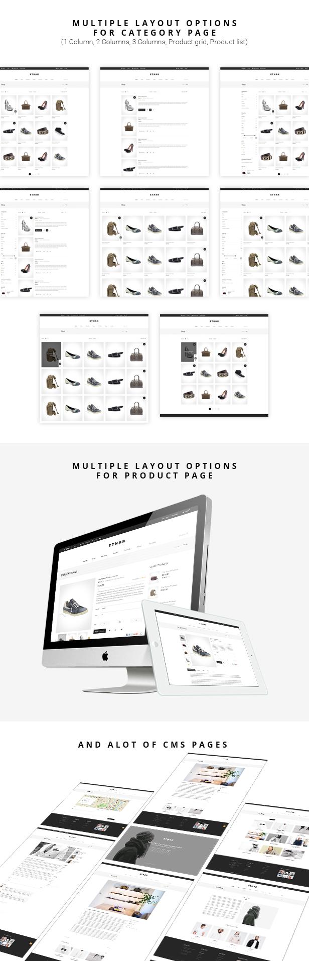 ETHAN - Luxury Fashion Magento 2 and 1 Theme - 9