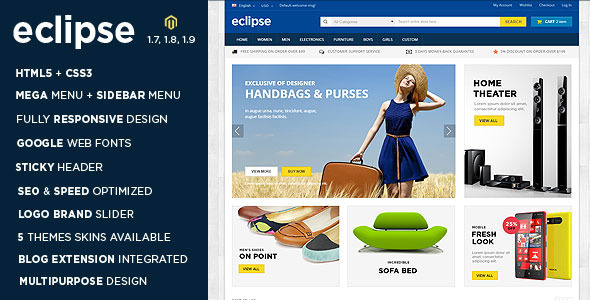 Eclipse Magento Theme