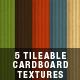 5 Tileable Cardboard Textures