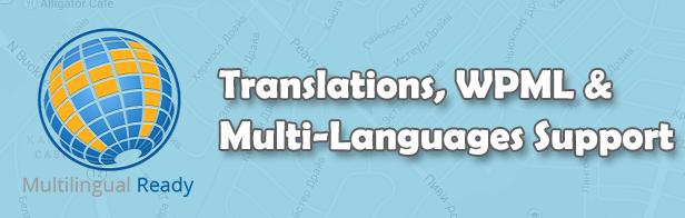 Translations, WPML & Multi-Languages Support