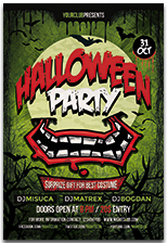 Halloween Party Flyer - 12