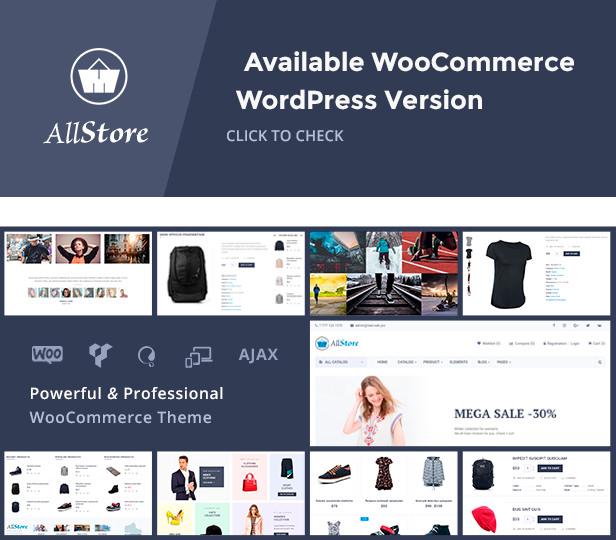 AllStore - WooCommerce WordPress Theme