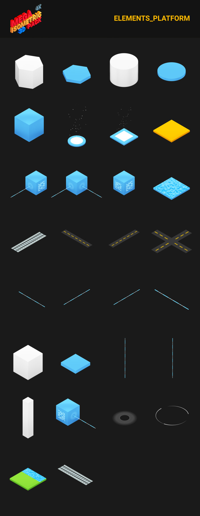 Isometric Mega Pack - 22