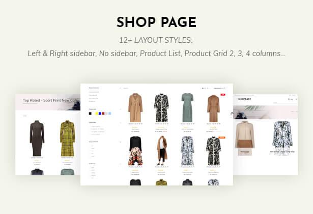 12 Shop styles