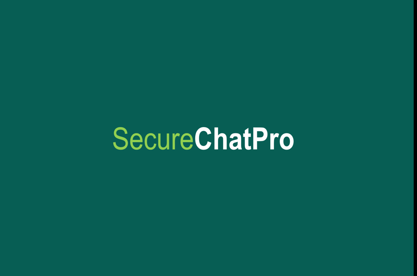 SecureChatPro - A Complete Whatsaap Clone - 1