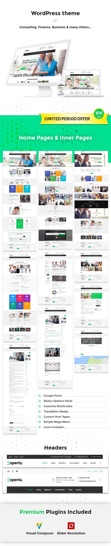 Expertz Business WordPress Theme - 1