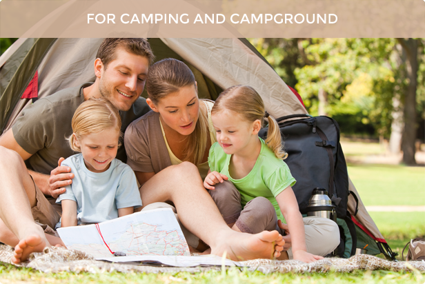 Camping Village - Campground Caravan Accommodation - 2