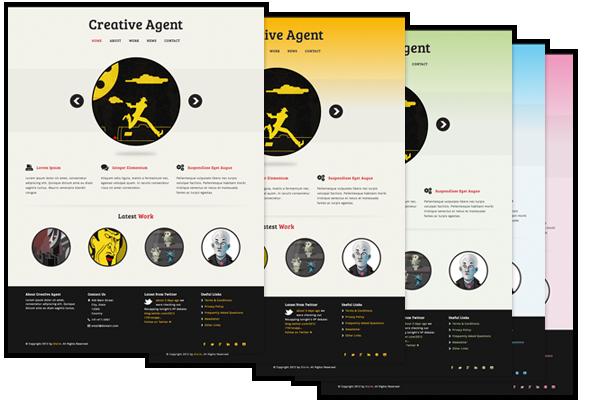 Creative Agent - Responsive Studio Portfolio - 1