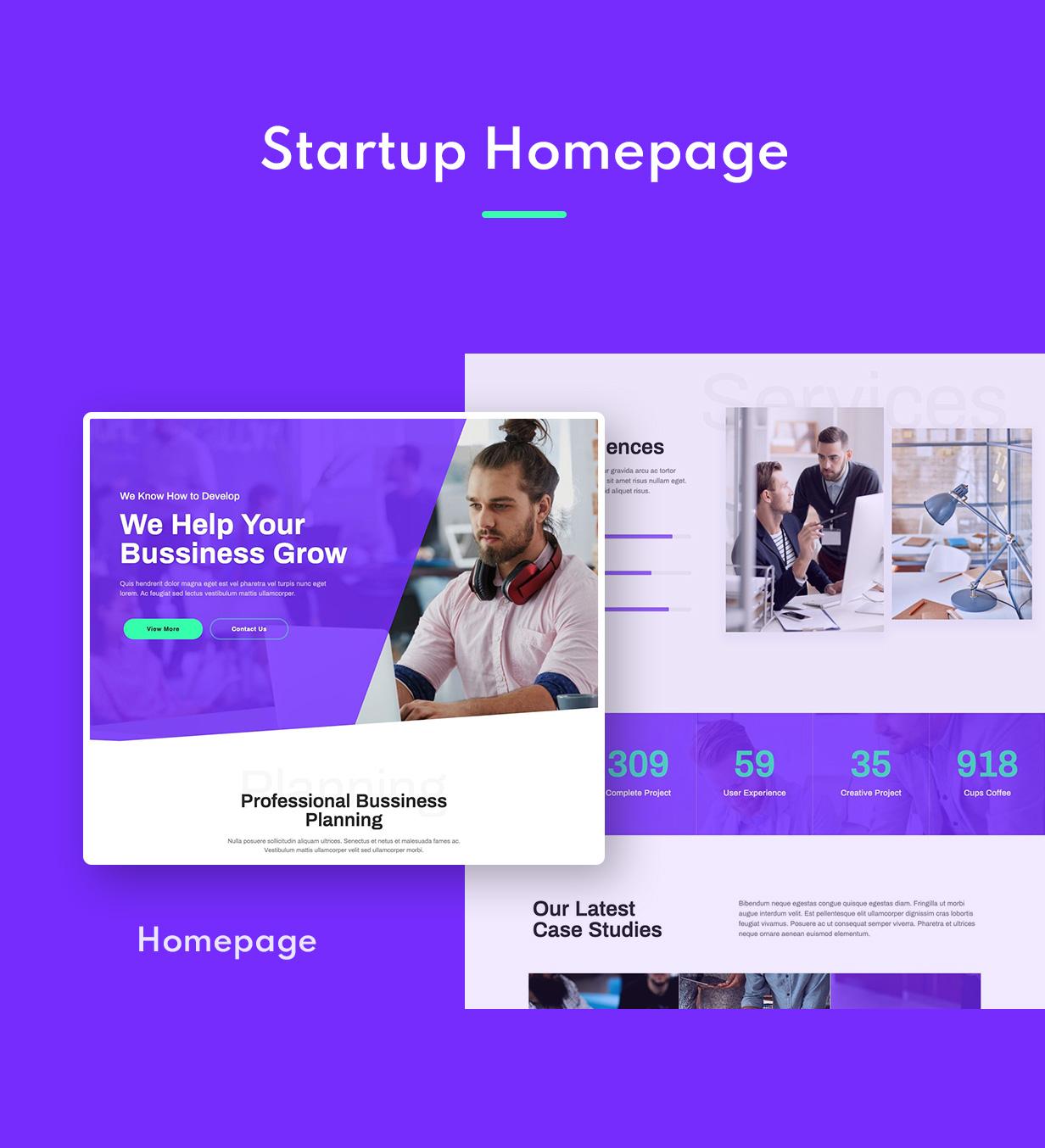 Startery | Business & Startup Elementor Template Kit - 1