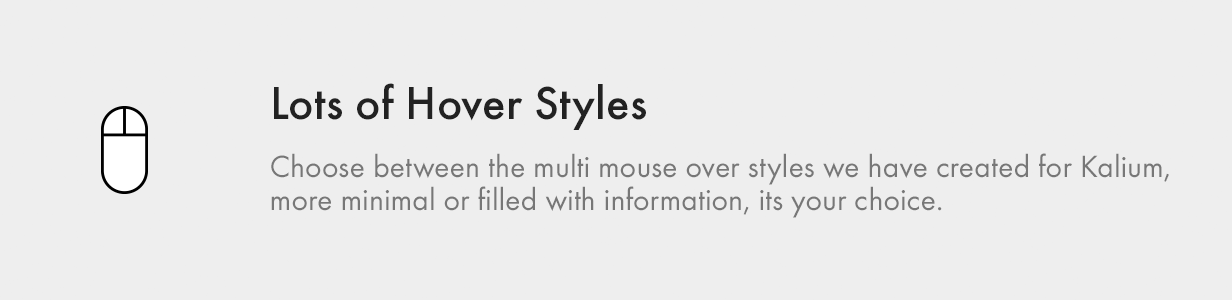 Modern Hover Styles, to please your clients with micro animations.
