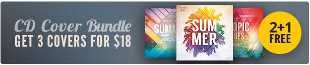 Summer CD Cover Bundle