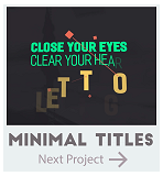 Minimal Titles Pack
