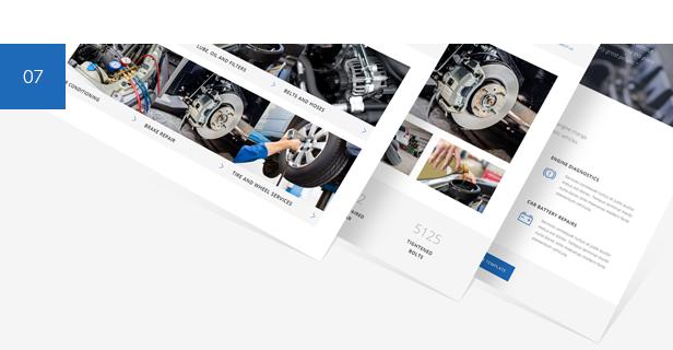 car repair, mechanic garage, auto service WordPress Theme
