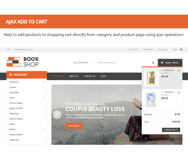 BookShop - Books Library Responsive Prestashop Theme by fieldthemes