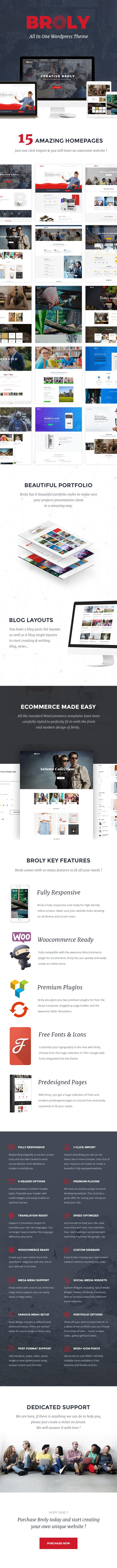 Broly - Creative Multi-Concept WordPress Theme - 2