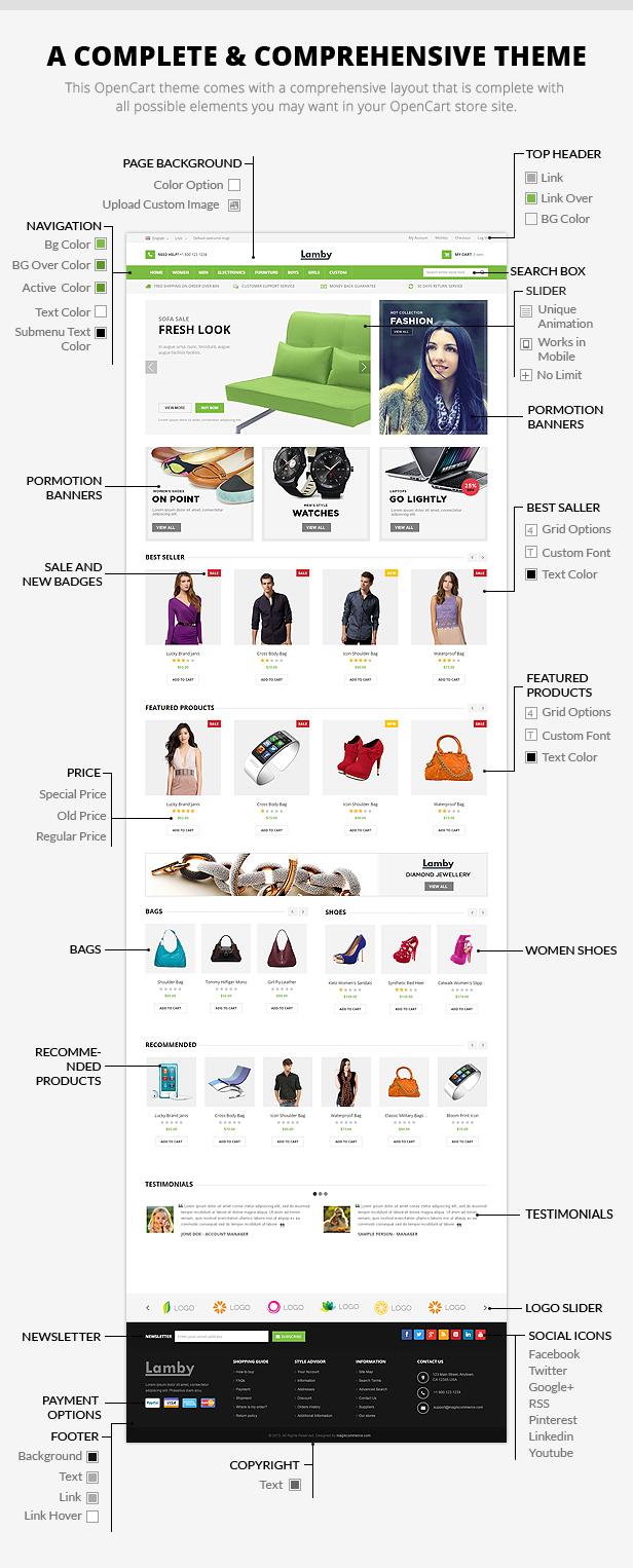 shoes shop opencart