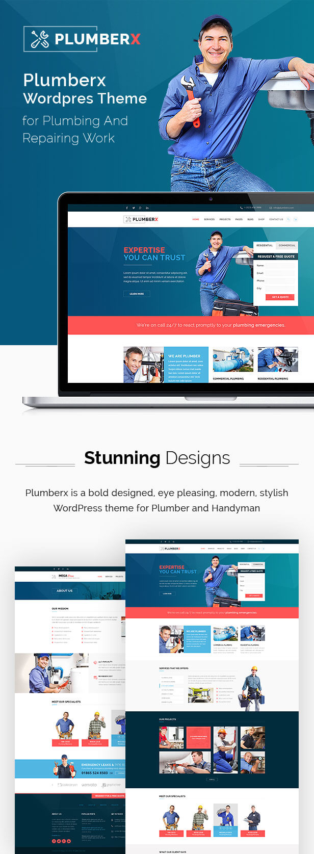 repair wordpress theme