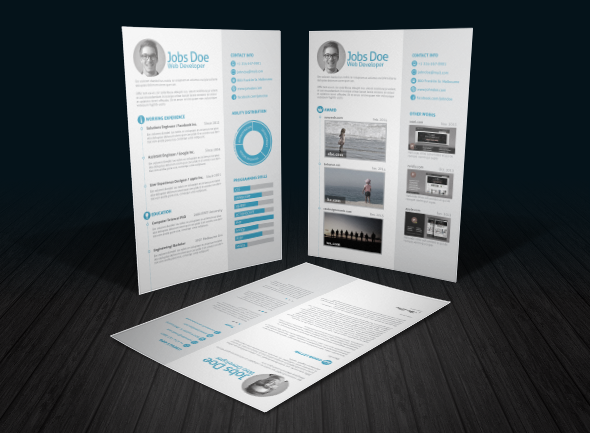 3 page Resume/ CV with Letter - 9