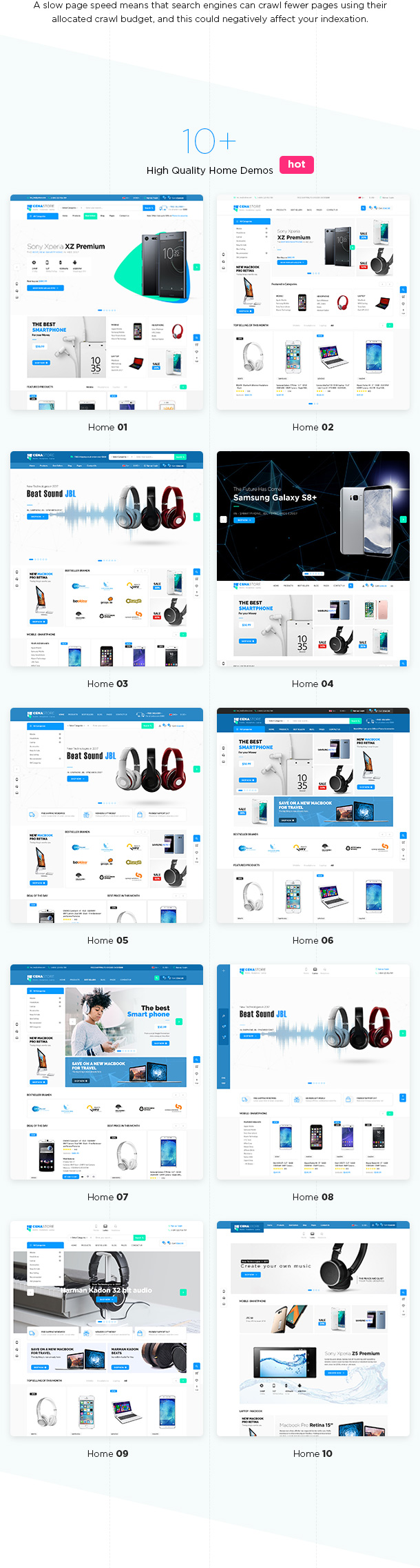 Cena Store - Multipurpose WooCommerce WordPress Theme - 8
