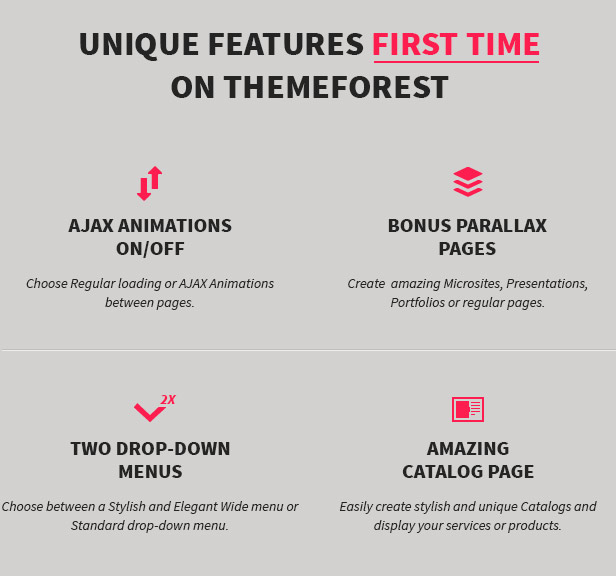 MINIMUM - Professional WordPress Theme - 1