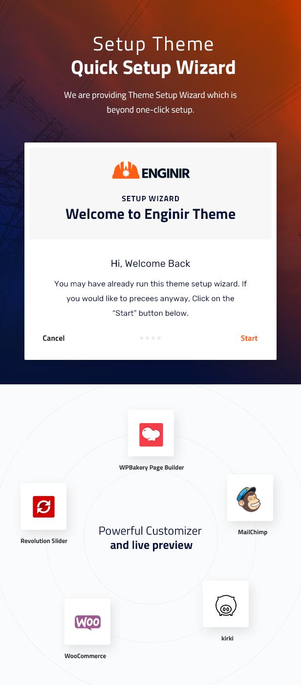 Enginir WordPress Theme