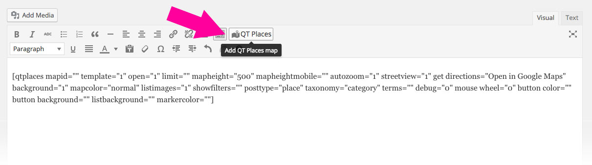 QT Places: Interactive Responsive Google Maps Wordpress Plugin - 1