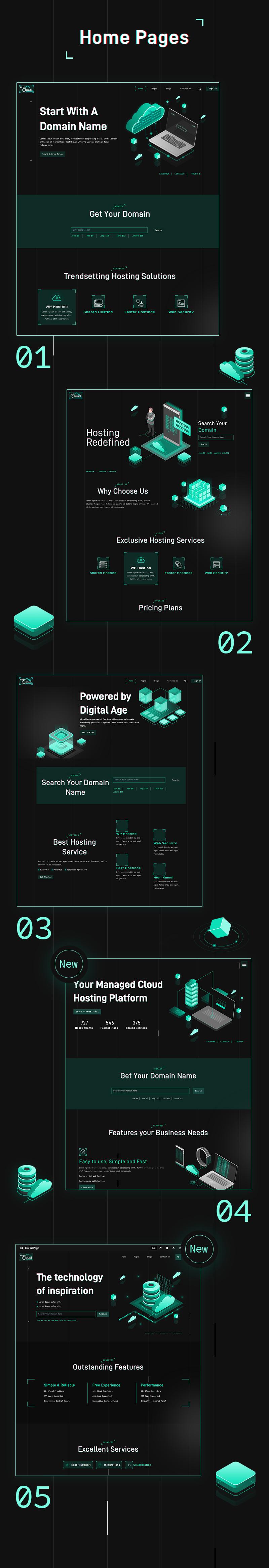 HostCloud   Hosting Server & Tech WordPress theme - 7