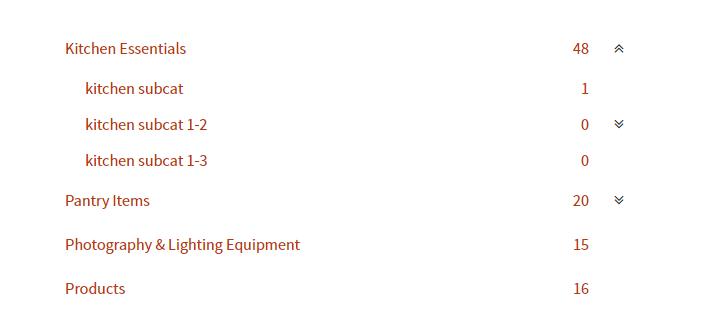 Woocommerce categories dropdown - 1