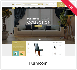 Furnicom- Furniture WordPress Theme
