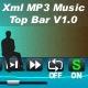 XML MP3 MUSIC TOP BAR V1