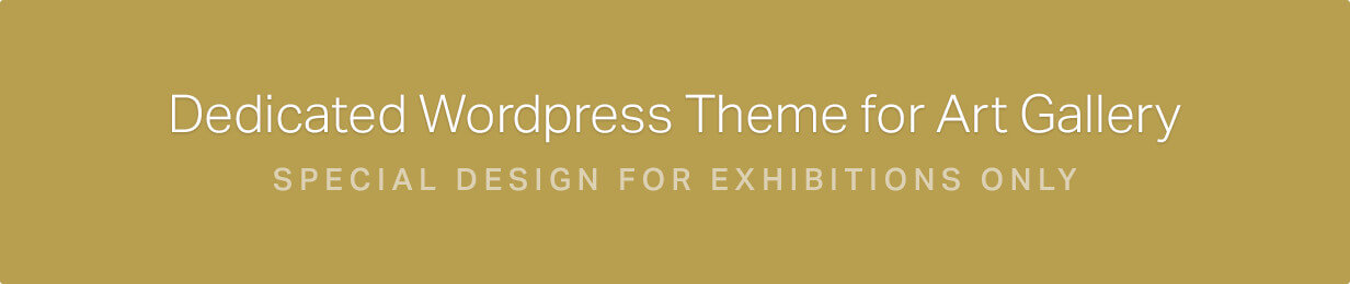 Arte | Art Gallery WordPress Theme - 1