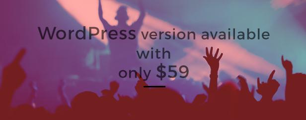 WeMusic Music Band Event WordPress Theme