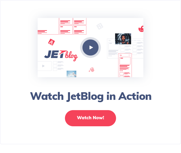 JetBlog - Blogging Package for Elementor Page Builder - 2