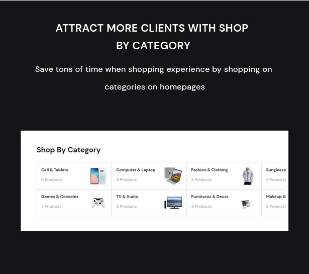 Attract More Clients With Shop By Category