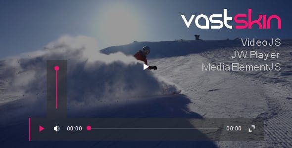 VastSkin for JW Player, VideoJS, MediaElementJS - CodeCanyon Item for Sale
