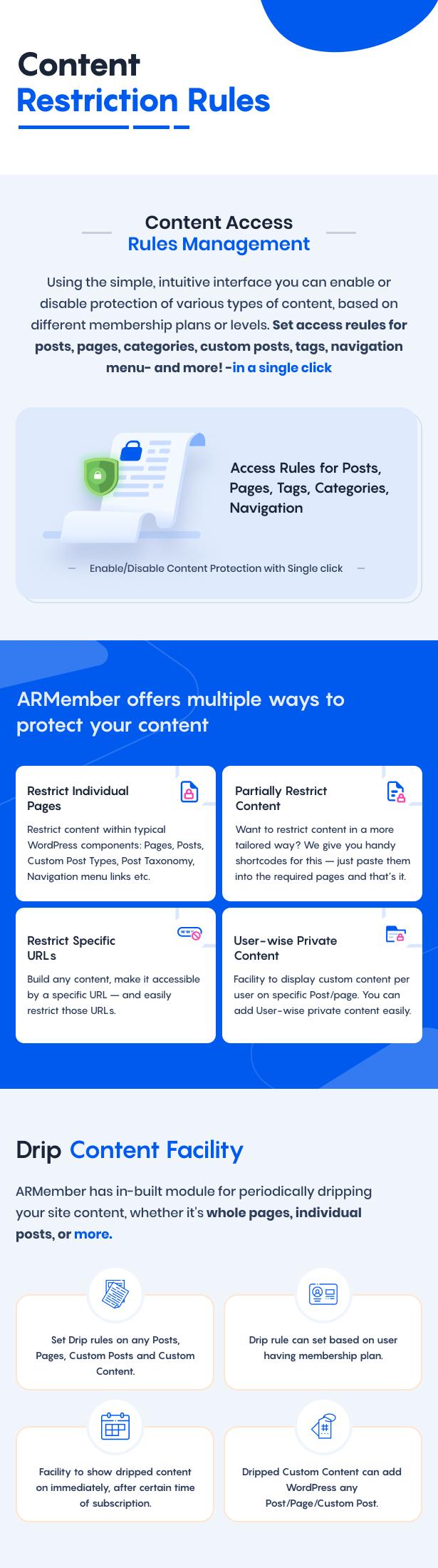 ARMember - WordPress Membership Plugin - 14