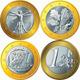 Vector Money euro cent germany - 1